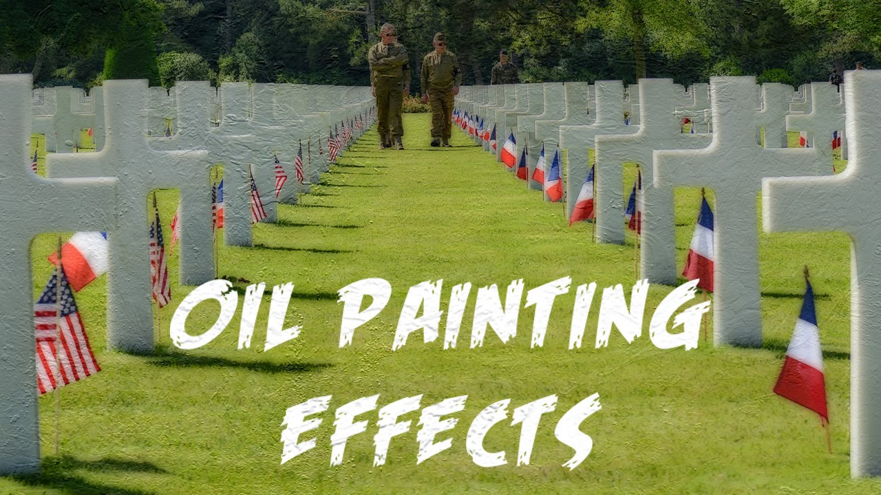 Free Oil Painting Photoshop Actions Version 2 - Creativetacos