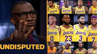 UNDISPUTED | Shannon break down Lakers roster after add Westbrook, Melo, Dwight Howard