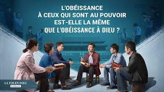 L'obéissance à ceux qui sont au pouvoir est-elle la même que l'obéissance à Dieu ?