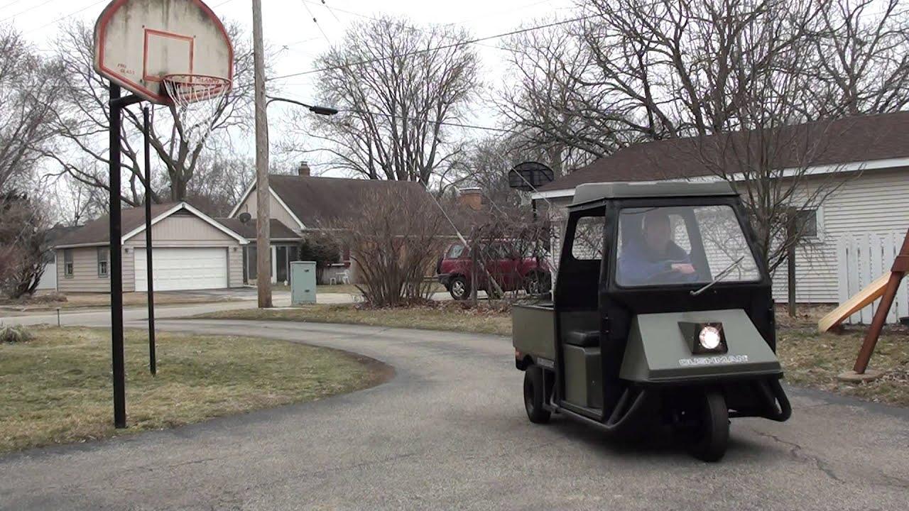 1970\'s Cushman Truckster....more video. - YouTube