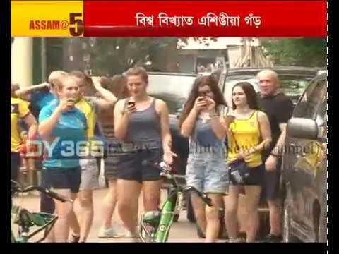 Ukrainian Women Boxers at Assam State Zoo || Guwahati