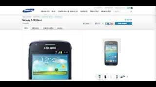 Samsung Galaxy S3 Duos GT - i8262B - Informações e especificações - PT-BR - Brasil