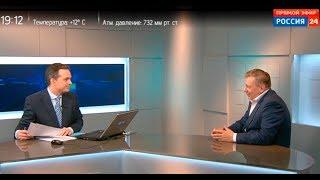 Интервью Валерия Николаева телеканалу Россия 24