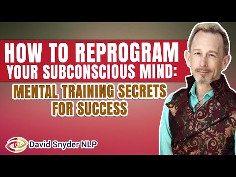 FREE NLP LECTURE: Mental Training Secrets For Success