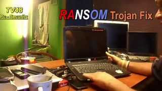 HOW TO FIX LOCKED  RANSOMWARE WINDOWS LAPTOP OR PC - 2015