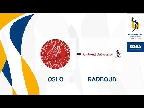 University of Oslo vs Radboud University Nijmegen, Group B Female - EUC Handball 2017