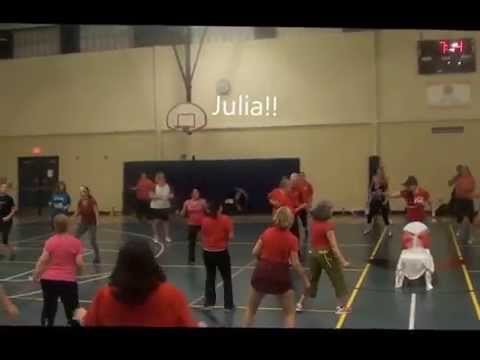 Marry You / Bruno Mars  Zumba Routine AND Surprise Marriage Proposal