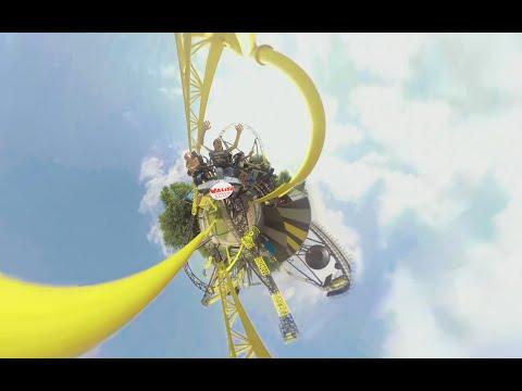 Walibi Holland - Lost Gravity - 360 graden