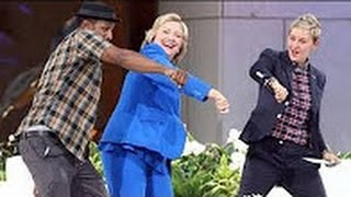 CLINTON & TRUMP DANCE MOVES_On ELLEN SHOW Goes VIRAL_DANCING DEBATE MOVES_{VIDEO} HD 720p