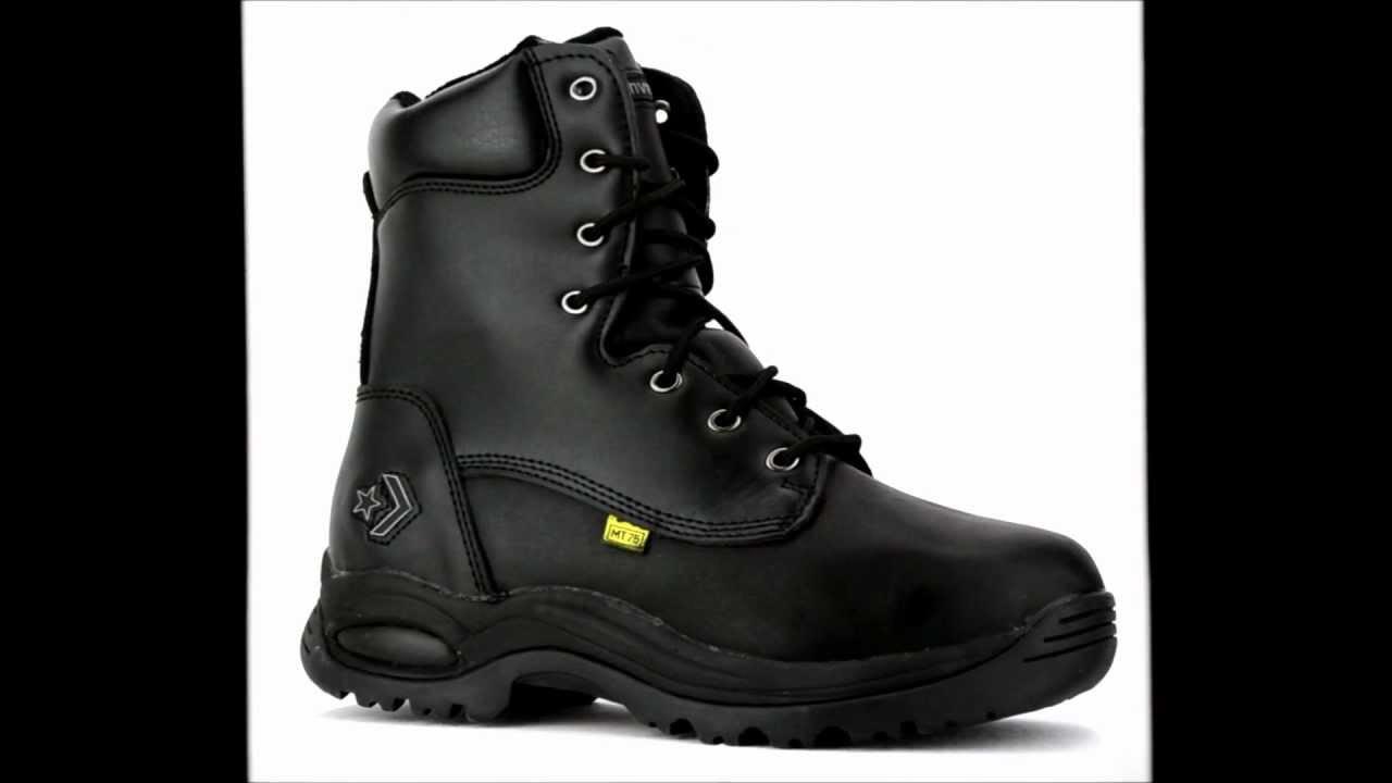 d470c6938556 Men s Converse C6880 Steel Toe Metguard Side Zipper Work Boot   Steel-Toe-Shoes.com  - YouTube
