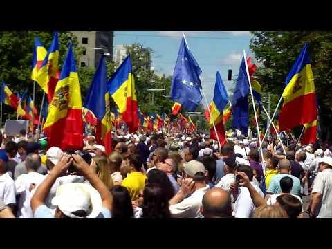 Protest al opoziţiei de la Chişinău, nu vrem schimbarea sitemului electoral - Curaj.TV