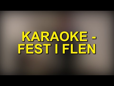 KARAOKE - FEST I FLEN!