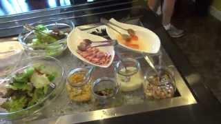沖縄の海が見えるホテル ベッセルカンパーナ沖縄朝食のレビュー