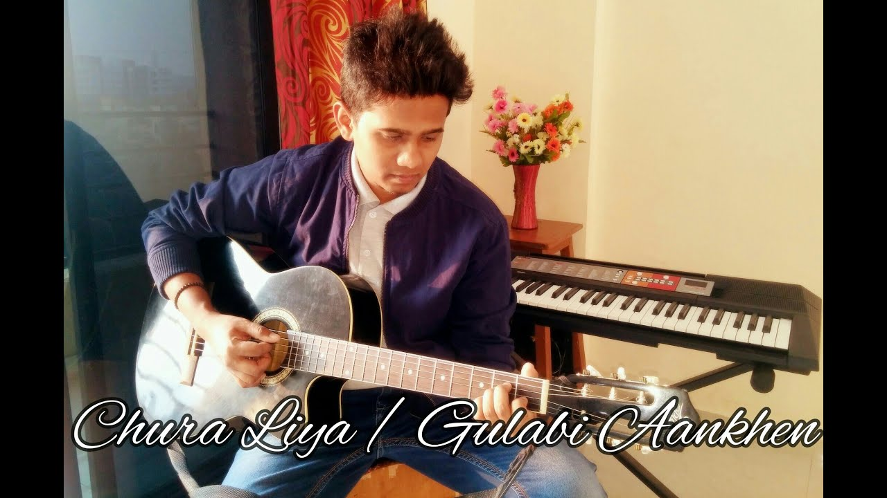 Bollywood Valentine Mashup Guitar Coverchords Acoustic Live Youtube
