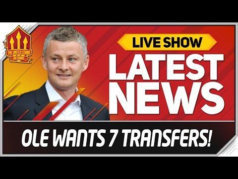 Solskjaer's 7 Transfer Targets! Man Utd Transfer News