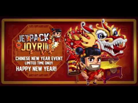 Chinese New Year comes to Jetpack Joyride!