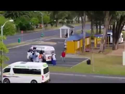 Taxi Overloading in South Africa. Not a world record attempt: This is a daily occurance.