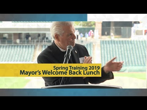 Spring Training 2019 • City of Surprise Mayor's Welcome Back Lunch video thumbnail