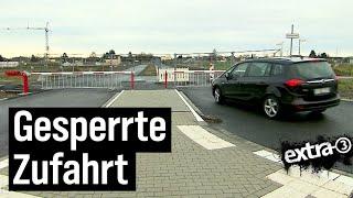 Realer Irrsinn: Straße fertig – Zufahrt verboten in Hürth