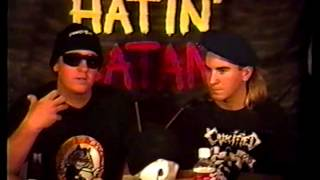 Hatin Satan Christian Metal Show From The 1990s