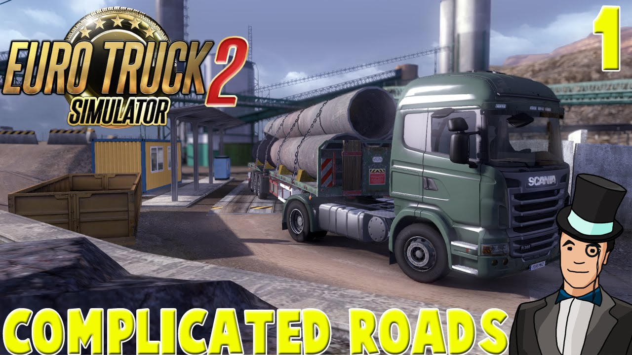 62ec02203c4 Euro Truck Simulator 2 - COMPLICATED ROADS MAP MOD 1.2 - #1 - YouTube