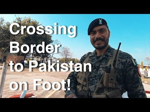 Crossing The Border to Pakistan & Eating Beef (+ Hindi Fails)