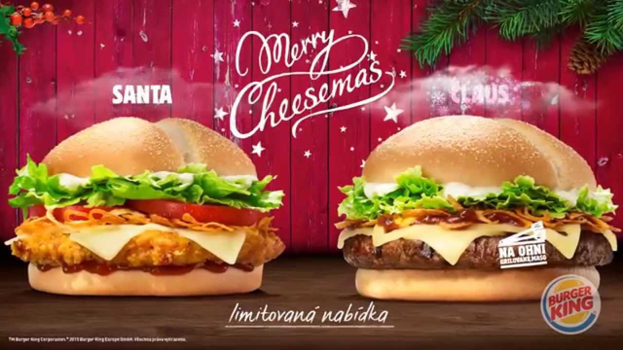 burger king merry cheesemas youtube. Black Bedroom Furniture Sets. Home Design Ideas