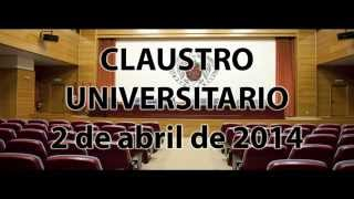 Claustro Universitario Estatutos 2-04-14