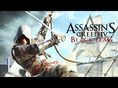 Assassin's Creed IV: Black Flag #1 [PS3] - Poznajmy Edwarda - Vertez Let's Play / Zagrajmy w - PL