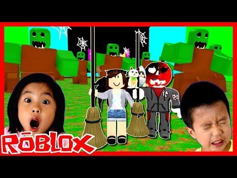 ハロウィン🎃👻 オービー🏃♀️🏃♂️(アスレ) に挑戦だ! ゲーム 実況 ROBLOX Escape Halloween Obby!!