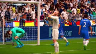 FIFA 16 PC CPU vs CPU Tournament Mode - Real Madrid vs Chelsea 2nd leg