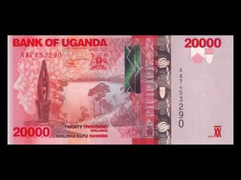 All Ugandan Shilling Banknotes - 2010 to 2013 in HD