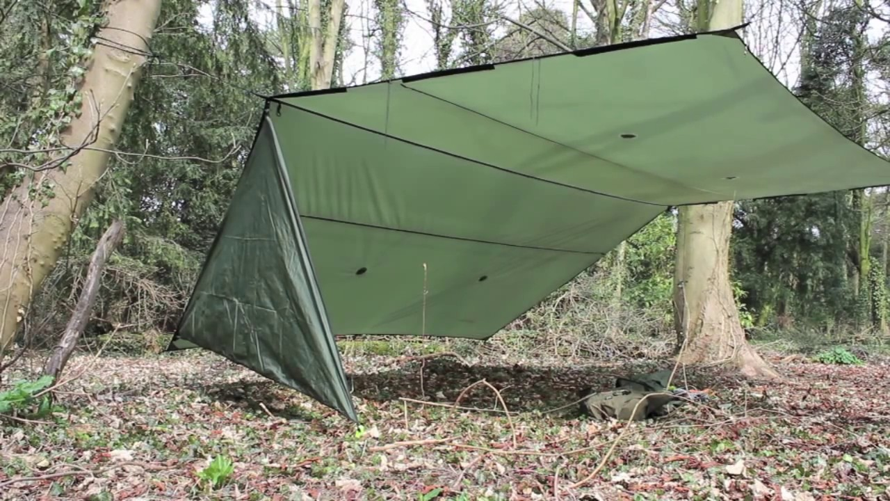 Tenth Wonder 4.5x4.5m tarp with doors review! & Tenth Wonder 4.5x4.5m tarp with doors review! - YouTube