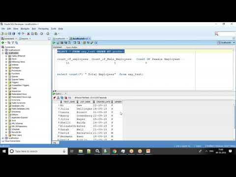 Oracle SQL TUTORIAL – IF Condition Using CASE And DECODE  - An Example