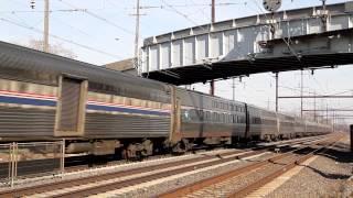 Amtrak Northeast Corridor Thanksgiving Sunday 2013 - Part 1
