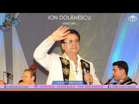 Ion Dolănescu - Mi-a venit ordin și mie