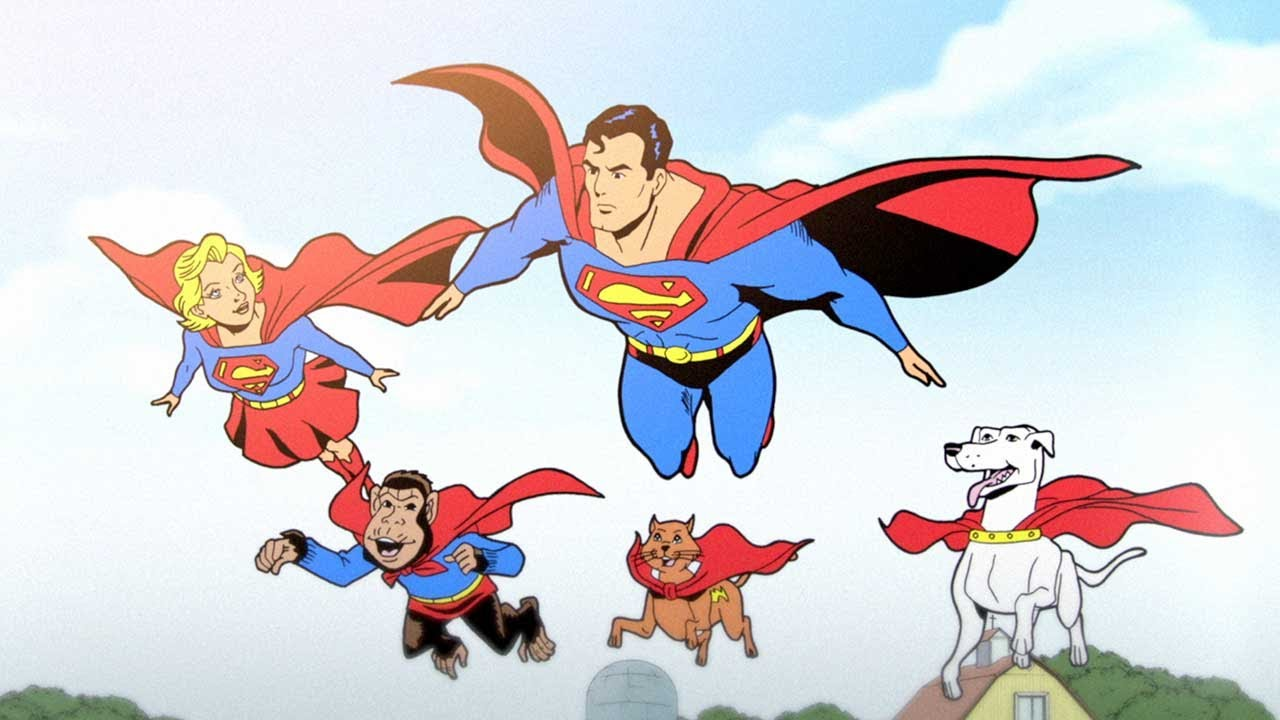 Dc Comics Power Girl Wallpaper Superman 75th Anniversary Animated Short Youtube