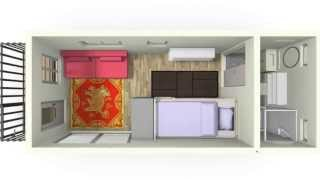 Brightbunk Tiny House Design