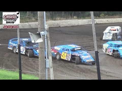 Casino Speedway WISSOTA MW Modified Heats (7/21/19)