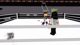 WWE Raw SuperShow 12-8-12 (Roblox)