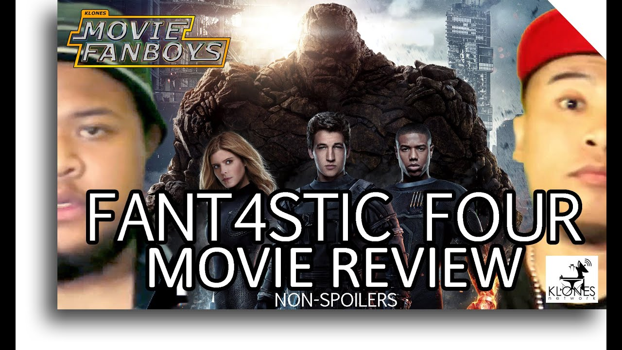 Fantastic Four 2015 Movie Review (Movie Fanboys)
