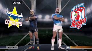 Rugby League Live 4 Roosters Coach Mode EP1 (THE DYNASTY BEGINS)