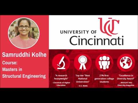 Study in USA - University of Cincinnati - Scholarships, Jobs