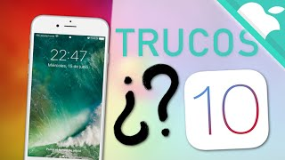 TOP 10 funciones escondidas de iOS 10