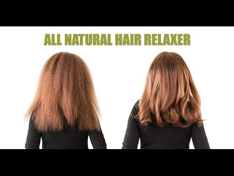 Make Natural Hair Straight Without Relaxer