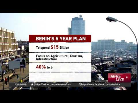 Benin government to spend $15b over 5 years to boost economy