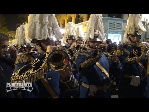 (1/3) Primer Desfile V Congreso Nacional de Bandas de Sevilla. Diciembre de 2017.