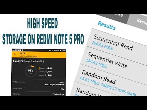 How To Enable F2FS on Redmi Note 5 Pro    Whyred    Hindi