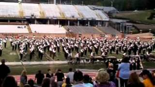 "Marching Mountaineers performing ""Tennessee Waltz"""