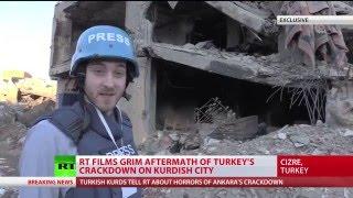 Cizre Kurds accuse Turkish forces of civilian massacre (EXCLUSIVE)